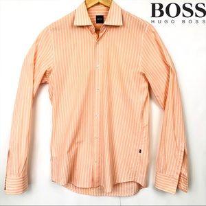 Mens longsleeve Hugo Boss button-down shirt S